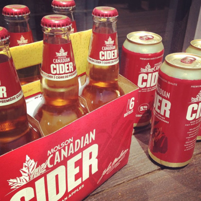 Molson Cider Launch