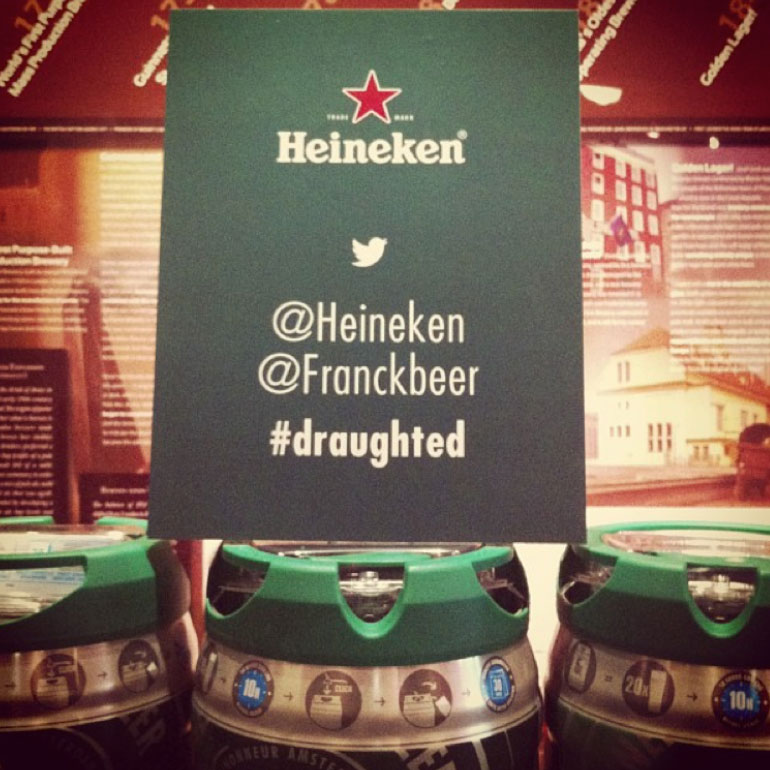 Molson #draughted Event