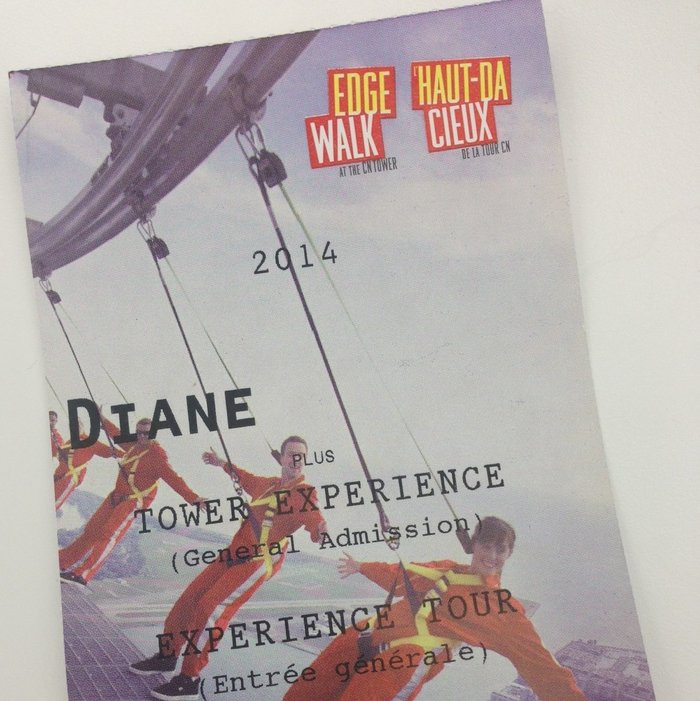 EdgeWalk ticket