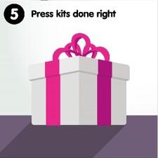 5 Press kits done right