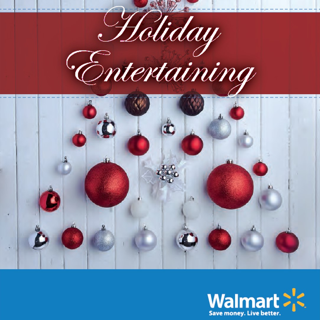 Walmart Holiday Entertaining