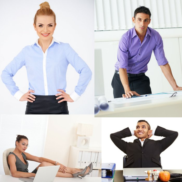 people in power poses