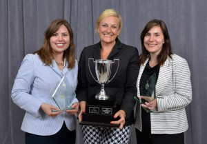 From left: Hilary Lawton, Jen Stein and Linda Andross