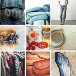 vintage clothes and housewares