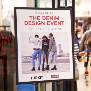 The Denim Design Event with Levi's and The Kit