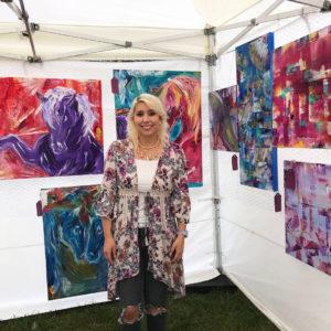 Vanessa Art Show