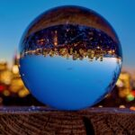 City Nights Through Lensball